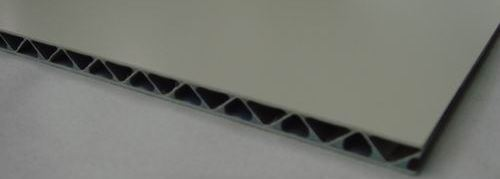 corrugated aluminum composite panel